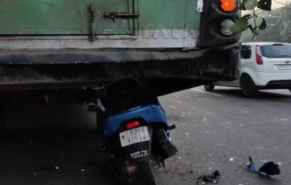 Chandigarh man killed as scooter rams into parked bus