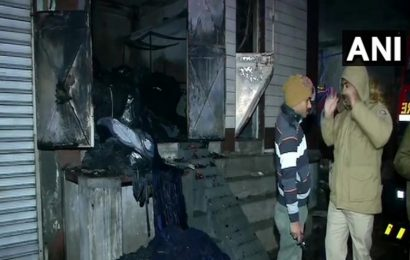 3 dead, 10 injured after fire breaks out at cloth godown in Delhi's Kirari
