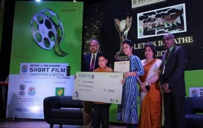 Mumbai students' film 'Clean and Green' bags top prize at Centre for Media Studies VATAVARAN 2019