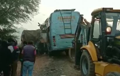 9 killed after bus rams into stationary truck in Madhya Pradesh's Rewa