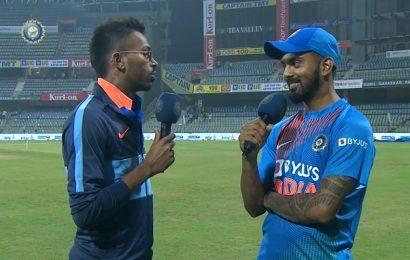 India vs West Indies: 'Seeing you in the stands inspired me' – KLRahul to 'best friend' Hardik Pandya – WATCH
