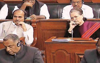 BJP MPs seek Adhir Ranjan apology, target Sonia after Congress leader calls Modi, Shah 'infiltrators'