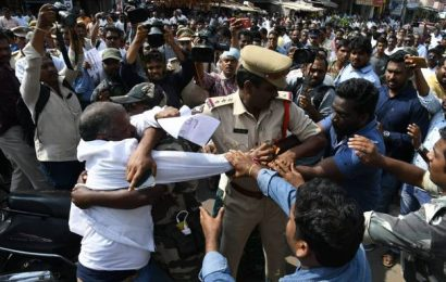 Jagan's three capitals idea triggers protests in Amaravati
