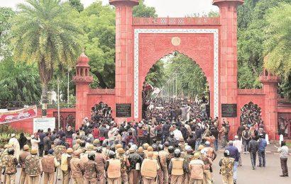 Protests continue at AMU: 'Next stop Delhi'