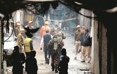 Delhi Anaj Mandi fire: 'MCD officials checked unit last week, was locked'