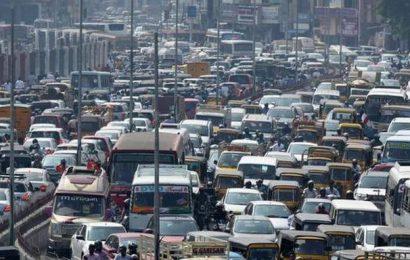 Traffic congestion in areas surrounding Jaya memorial
