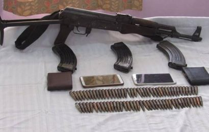 Manipur: Two arrested, AK 56 rifle, ammunition seized