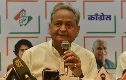 Do away with ghoonghat custom, time to put an end to it: Ashok Gehlot