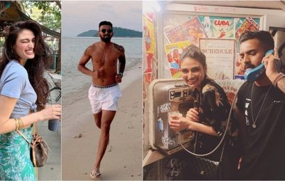 Athiya Shetty and KL Rahul take a break in sunny Thailand