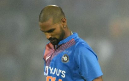 India vs West Indies: Shikhar Dhawan likely to miss ODI series against WI: Report