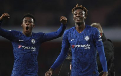 Chelsea earn late comeback win over Arsenal after Leno blunder
