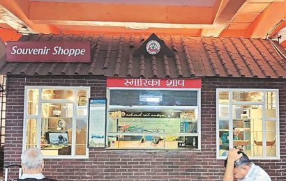Locked in tussle, railway station shop runs dry of stock
