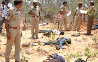20 woodcutters from TN gunned by A.P. police
