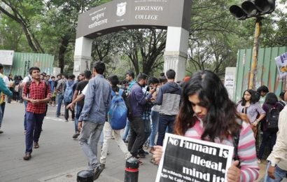 Fergusson College students organise signature campaign to protest against Jamia violence