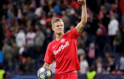 Borussia Dortmund sign teen striking prodigy Haaland