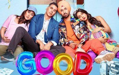 Good Newwz new poster: Akshay Kumar, Kareena Kapoor, Diljit Dosanjh looks visibly tired with their goofed-up lives | Bollywood Life
