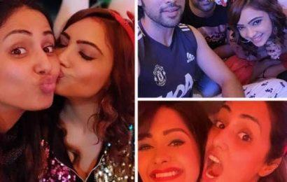 Hina Khan की Chritmas Party में  Erica Fernandes के बिना ही पहुंचे Parth Samthaan, Kasautii Zindagii Kay 2 के इन कलाकारों ने भी मचाया खूब धमाल