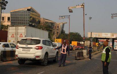 FASTag trials result in long queues at Gurugram's Kherki Daula toll