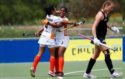 India beat New Zealand 4-1 in 3-Nations women's junior hockey tournament