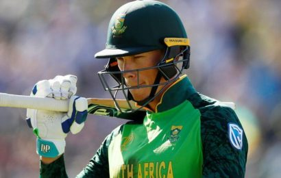 Van der Dussen to make South Africa test debut versus England