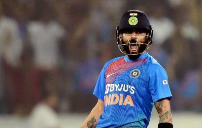 India vs West Indies:Virat Kohli surpasses Rohit Sharma to create T20I world record