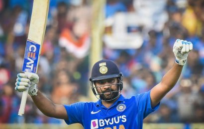 India vs West Indies: Rohit Sharma breaches 150 for 8th time in ODIs, extends unparalleled record