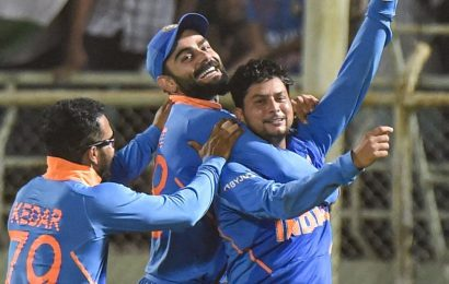 India vs West Indies: Kuldeep Yadav one wicket away from massive ODI feat