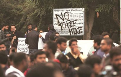 After JNU, IIMC students protesting over 'unaffordable' fee