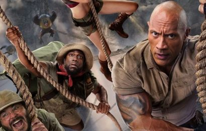 Jumanji The Next Level full movie leaked online by Tamilrockers