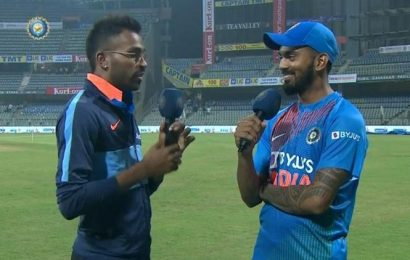 KL Rahul reunites with Hardik Pandya, says 'dressing room feels empty without you'
