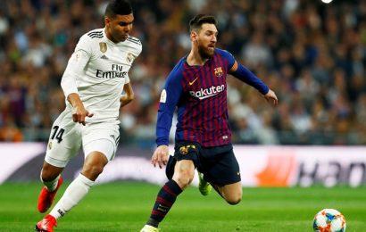 Real Madrid enters winter break 2 points behind leader Barcelona