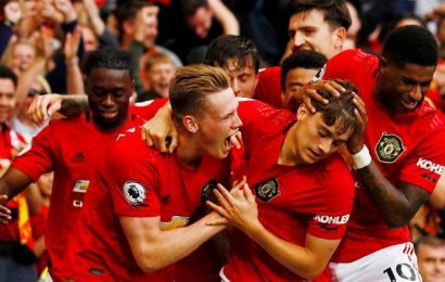 Manchester United set for 4,000th straight game with academy graduates in squad