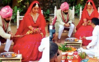 Mona Singh ties the knot