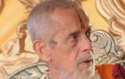 Pejawar Mutt seer Vishwesha Teertha Swami passes away at 88