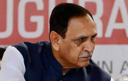 Gujarat CM lays foundation stone for 100MLD desalination plant