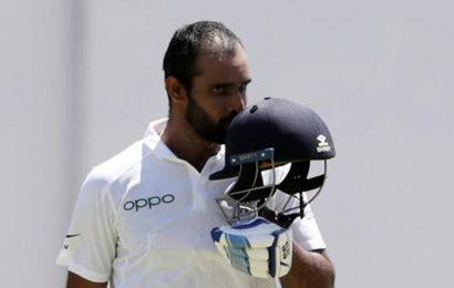 IPL snub not in my control but focus is now on NZ tour: Vihari