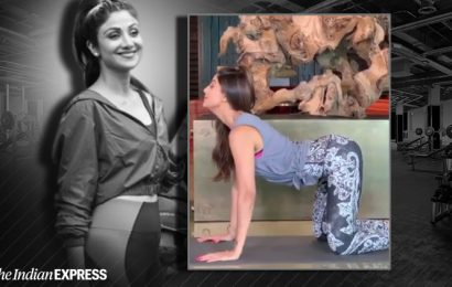 Shilpa Shetty shares yoga helped her fight back issues; watch her perform this 'easy asana'