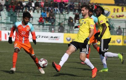 Real Kashmir win as football returns to Valley