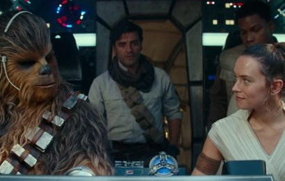 Strong first night for latest Star Wars but falls short of previous two films