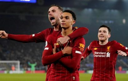 Trent Alexander-Arnold leads Liverpool to 13-point lead after win at Leicester