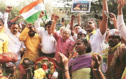 VBA's first protest against new citizenship law: Ambedkar bats for marginalised communities