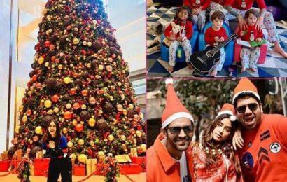 Christmas Holidays के खुमार में डूबा पूरा बॉलीवुड, sunny leon और Kartik Aaryan समेत इन सितारों ने मनाया जश्न