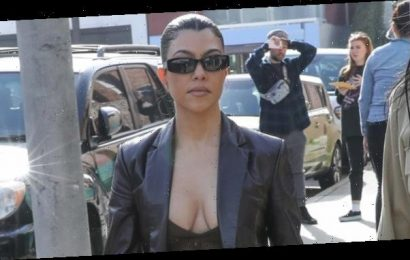 Kourtney Kardashian, 40, Rocks Low-Cut Top On Lunch Outing After Admitting She 'Wishes' She Was Pregnant