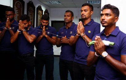 PHOTOS: Sri Lanka touch down in Guwahati ahead of T20Is
