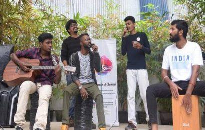How 'On The Streets of Chennai' rounded off 2019 with impromptu performance