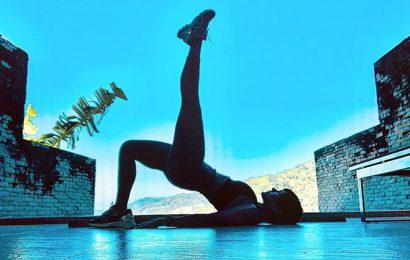 Whoa! Mandira Bedi is on a #365day fitness challenge