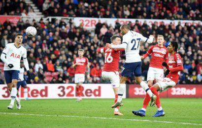 FA Cup PIX: Moura rescues Tottenham, Chelsea progress