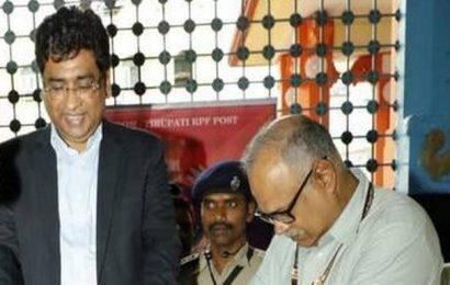 Railway board chief promises more facilities at Tirupati station