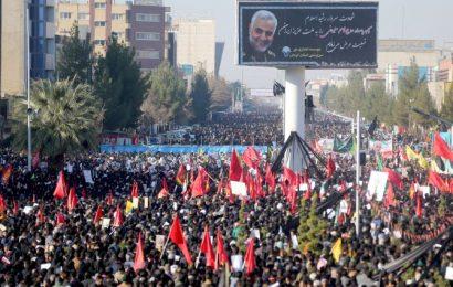 35 killed in stampede at funeral of Iran general