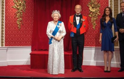 Tussauds moves Harry, Meghan's figures away from family